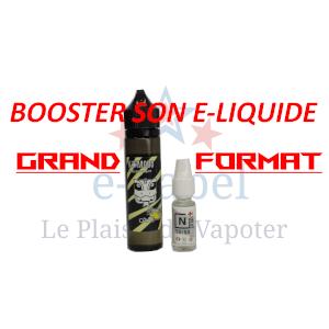 Les étapes pour booster son e-liquide grand format