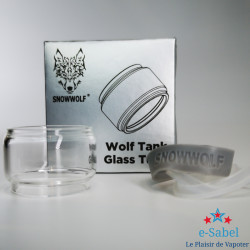 Glass Pyrex Bubble Wolf...