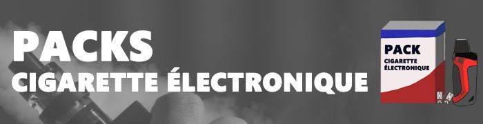 Les packs et kits de cigarettes électroniques neufs chez e-Sabel.fr