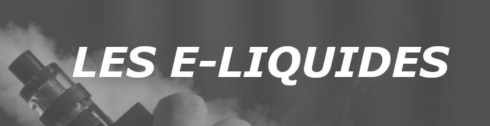 Tous les meilleurs e-liquides sont chez e-Sabel.fr