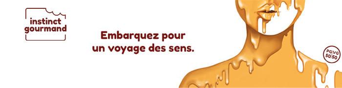 E-Liquides collection Instinct Gourmand - Alfaliquid | e-Sabel boutique e-liquide